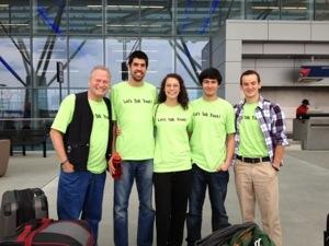TrashTalk Team off to Ireland